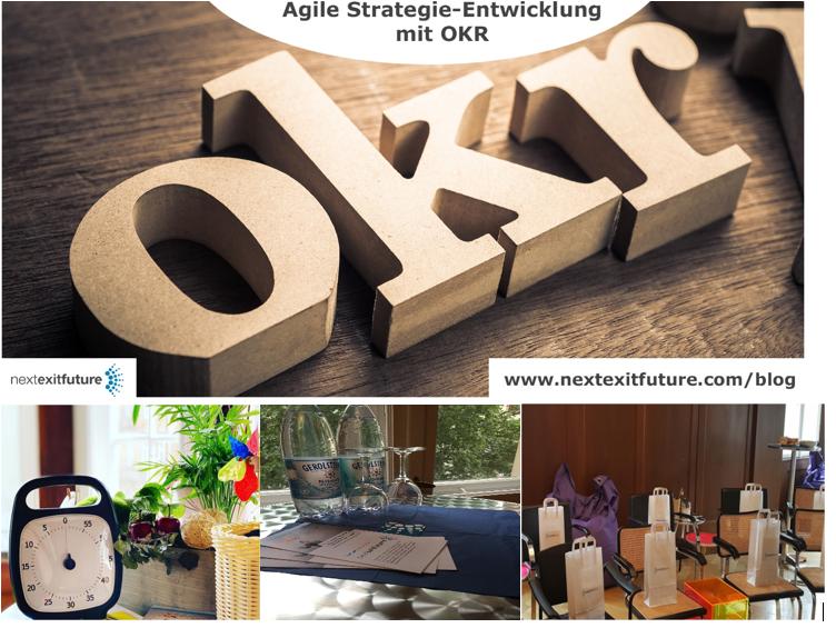 Agile Strategieentwicklung mit OKR Workshop
