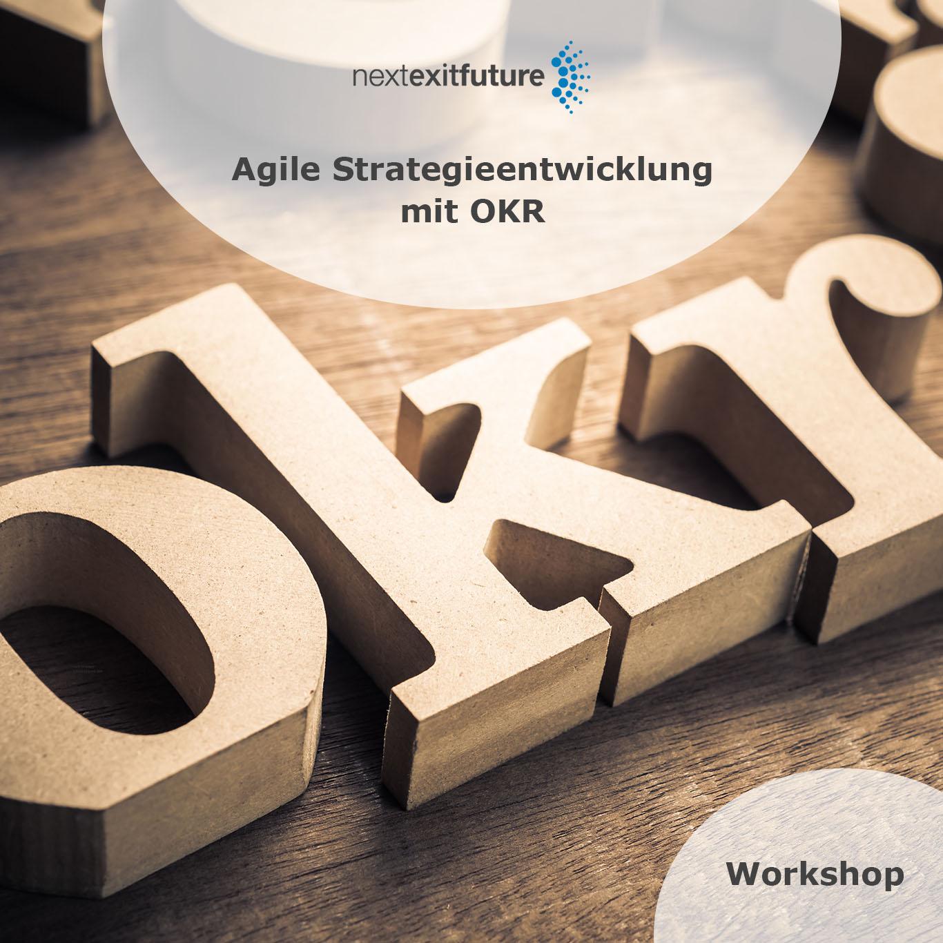 Workshop: Agile Strategieentwicklung mit OKR